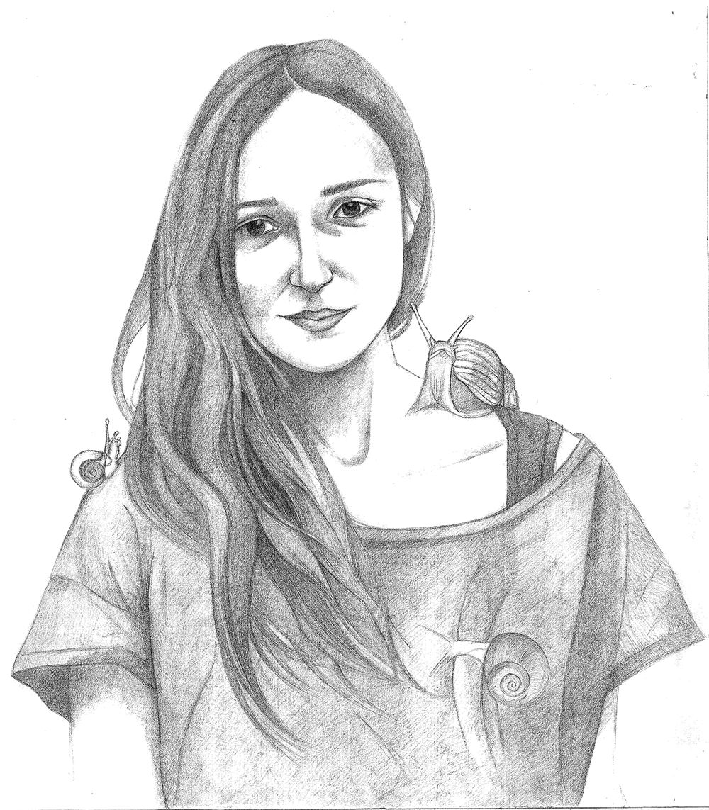 Melisa - Pencil On Paper, 70x100 Cm, 2013