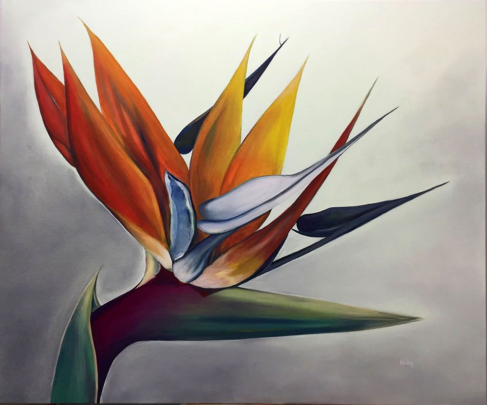 Bird Of Paradise, 100x120 Cm, 2016
